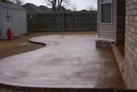 Adding Pavers To Concrete Patio Decorate Concrete Patios From Harmon Concrete Of Northwest Arkansas Tulsa