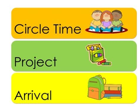 preschool schedule cards preschool daily schedule cards by minchie teachers pay 882