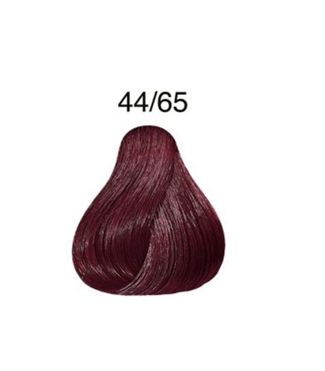 wella color touch  rich mahogany brown purple