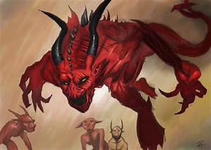 Magic The Gathering - Vexing Devil by FalloutKitty on ...