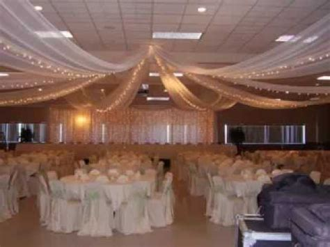 wedding decorations for the ceiling diy wedding ceiling decorating ideas youtube
