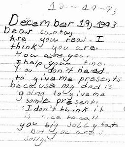 the 30 funniest letters to santa from kids of all time of With real letter to santa