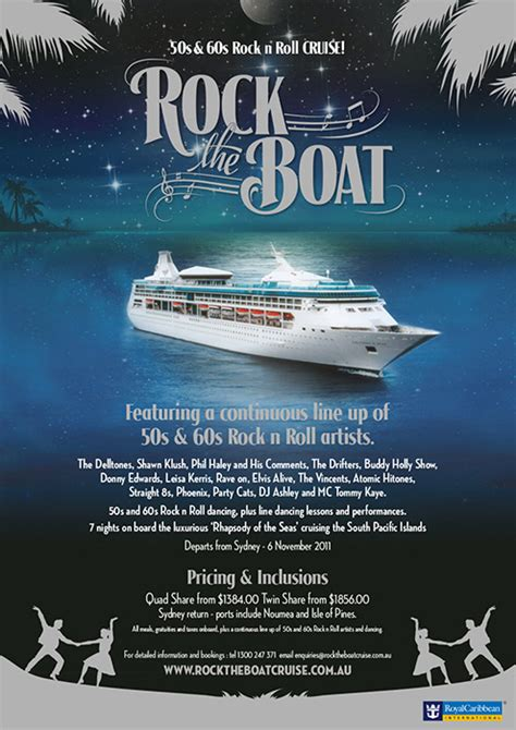 Rock The Boat Uk by Rock N Roll Cruise Tropical Rock N Roll Cruise Events