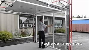 porte de garage moustiquaire youtube With porte de garage de plus porte À galandage