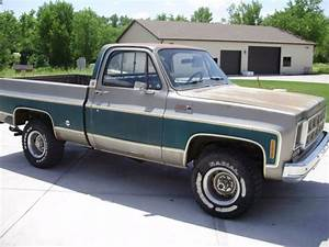 1977 Gmc Sierra Grande K10 Shortbox 4x4