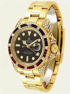 Rolex Uhr Herren Gold : gmt master ii saru yellow gold diamond ruby shapphire rolex juwelier burger maastricht ~ Frokenaadalensverden.com Haus und Dekorationen