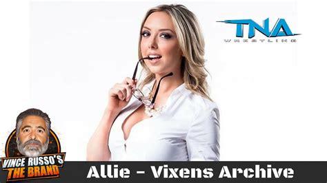 allie shoot interview  vince russo vixens archive