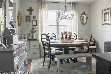 Modern Farmhouse Dining Roomoffice Reveal  $100 Room