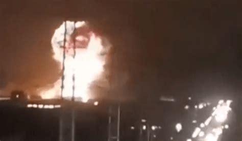 3次燃爆!湖南一工厂突发爆炸,天空升起巨型蘑菇云……_事故