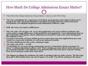 tips for writing your college admissions essay
