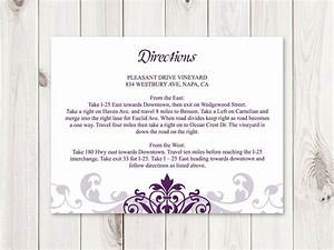 32 best wedding invitation templates quotelegant ironwork With direction inserts for wedding invitations templates