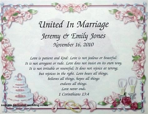 17 Best Ideas About Personal Wedding Vows On Pinterest