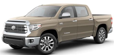 toyota tundra color options