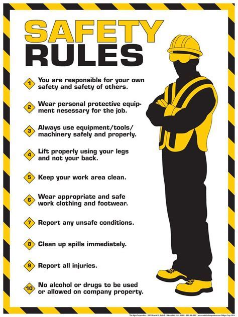SAFETY RULES ? SafetyWiseServices