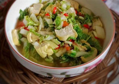 Kali ini saya akan coba mengolah sawi hijau yang kaya vitamin dan mineral menjadi sebuah menu sayur bening yang lezat dan sarat gizi, menu kali ini pun cocok sebagai makanan pendamping asi. Resep Sawi Vegetarian / Jual Vegetarian Korea Kimchi 1kg ...