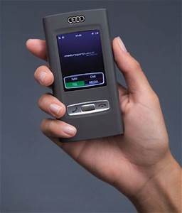 Audi shows off concept cellphone / vehicle control device