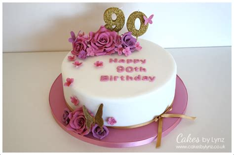 Birthday Cakes Images Vintage 90th Cake For