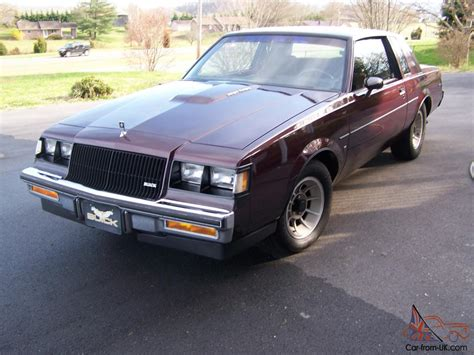 Buick Turbo T by 1987 Buick Regal Turbo T One Owner All Original