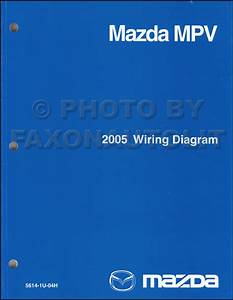 2005 Mazda Mpv Repair Shop Manual Original