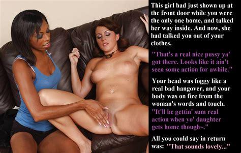 Interracial Lesbian Dom Captions 1 - PornHugo.Com