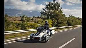 Can-am Spyder F3-t 2016 Testfahrt    Test Driving