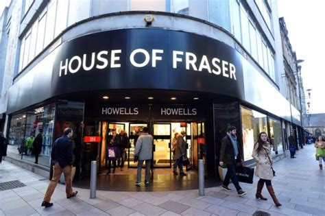 House Of Fraser Building In Cardiff Under New Middle