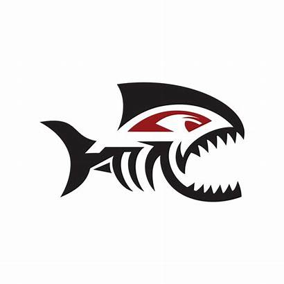 Piranha Extreme Sports Fish Logos Piranhas Graphis