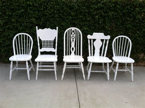 Farmhouse Kitchen Chairs Set Of 5 Dining Chairs By