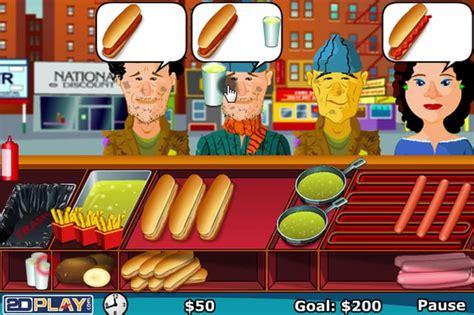jeux de cuisine burger restaurant sosisçi bush oyunu kral oyun