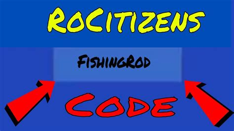 Rocitizens Codes Roblox List 2018