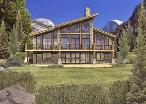 Modern Log Home Floor Plans
