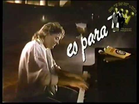 Luis Miguel Comercial Sabritas 19871 YouTube