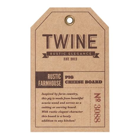 rustic farmhouses rustic farmhouse pig cheese board by twine elegant gifts