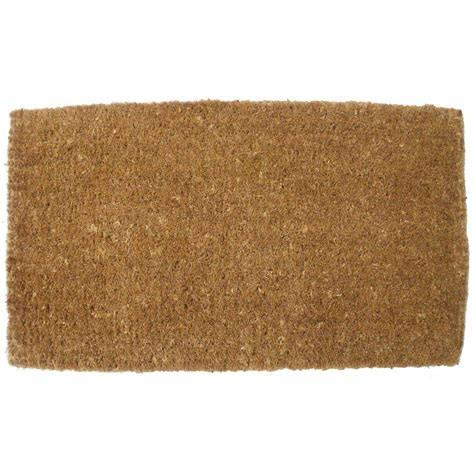 Coco Doormat by J M Home Fashions Plain Vycome Coco Doormat