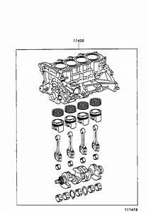 Toyota Echo Engine Timing Chain Tensioner  Block  Short