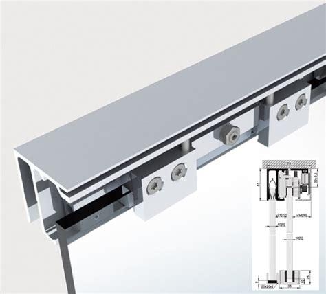syst 232 me rail coulissant plafond avec pan fixe slide tec optima 2m ref bo5101533n bohle 590 00
