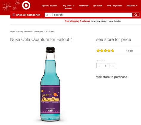 Nuka Cola Quantum Lava L by Soda Has Been The Retro Wave Recently Via Revived