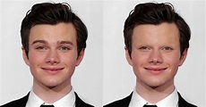 Celebs Without Eyebrows: Chris Colfer