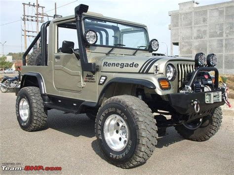 jeep mahindra modified jeeps of india outrageous to outstanding