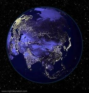 Planet Earth at Night - Pics about space