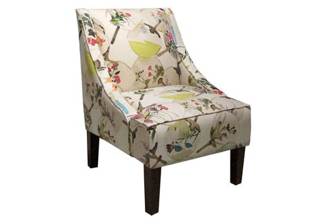 Fletcher Swoop-arm Chair, Exotic Floral, From One Kings Lane