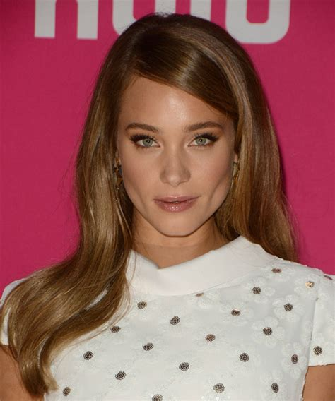 hannah davis long straight formal hairstyle light