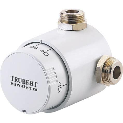 mitigeur thermostatique mitigeur thermostatique trubert eurotherm t9107b 20x27 watts bricozor