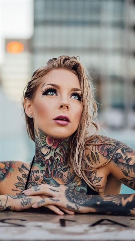 Best Iphone X Wallpaper Vintage Tattoo Girl Wallpaper Iphone By Tattoo Art With Tattoo Girl