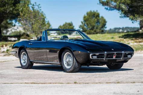 Maserati Ghibli Spyder For Sale for sale 1970 maserati ghibli spyder 4 7l