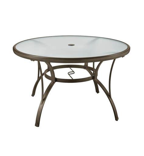 hton bay patio table replacement glass mesa new hton bay