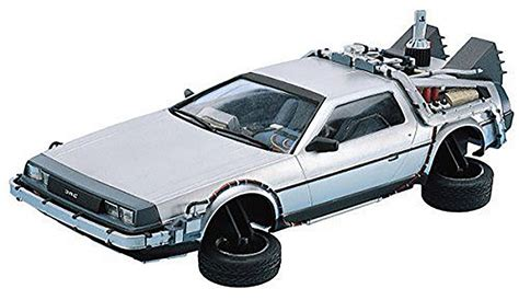 Pinewood Derby Car Back To The Future Ii Delorean Aoshima 011867 1 24 Back To The Future Part 2 Delorean