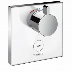 Hansgrohe Thermostat Unterputz : hansgrohe showerselect glas thermostat highflow unterputz f r 1 verbraucher 15735400 megabad ~ Frokenaadalensverden.com Haus und Dekorationen