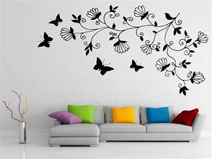 Designs on walls of a bedroom easy wall art painting for What kind of paint to use on kitchen cabinets for large acrylic wall art