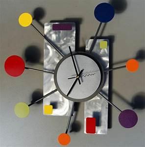 Moderne Wanduhren Design : moderne wanduhren 27 kreative beispiele ~ Markanthonyermac.com Haus und Dekorationen